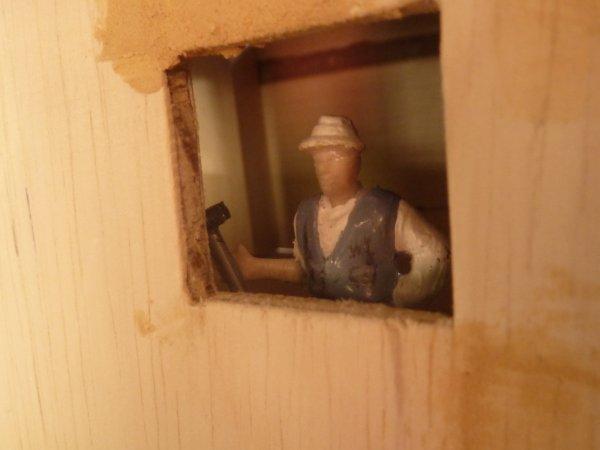 diorama, les travaux avancent