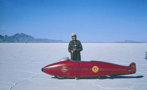 Salt flat picture - spécial Burt munro