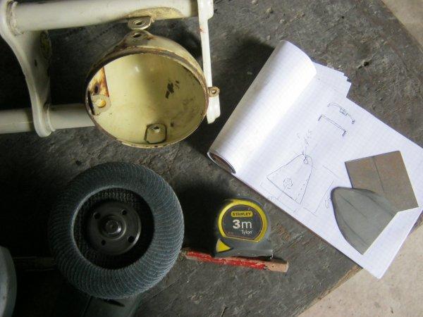 restauration de mobylette AV44