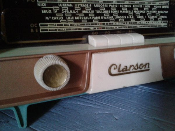 Restauration de mon poste radio !