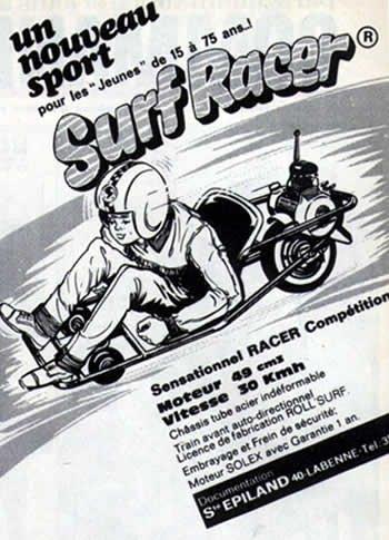 le nouveau sport ! Surf Racer !