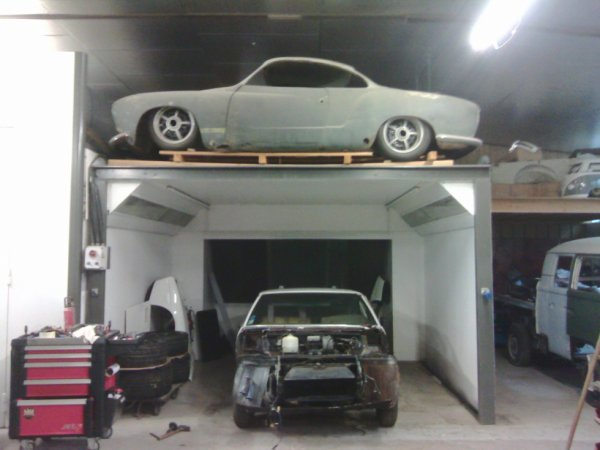 Classic car body repair