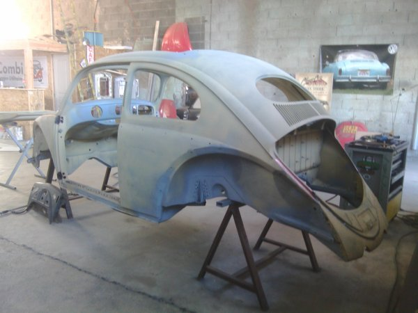 Classic car body repair