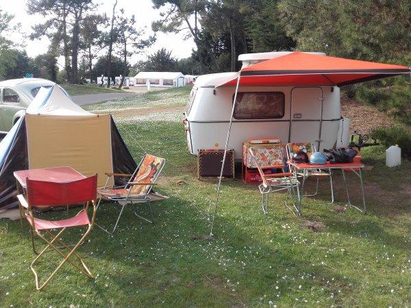 rétro camping cap fréhel 2016