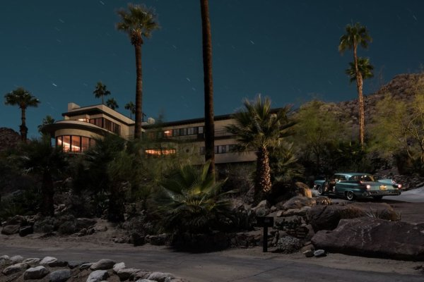 Palm Springs by night