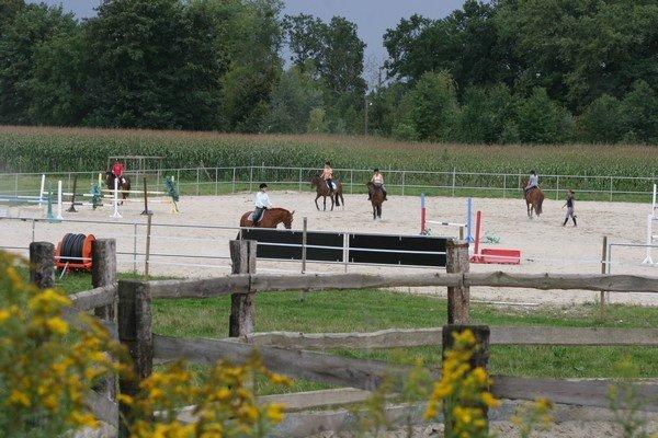 Le slas jumping le deuxième meilleurs centre équestre du monde