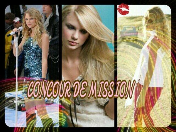 CONCOUR DE MISSION. :)