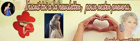 LE 3/08/2012:  C'est officiel,  Taylor Swift et Conor  Kennedy forment un nouveau couple trés glamour.  Le jeune homme d'à peine 18ans  a  en effet conquis le coeur de notre Taylor. Alors comment vous les trouvez.  Perso, je trouve qu'ils sont mignons ensemble.  +un montage de que j'ai fait de Taylor.  :-)