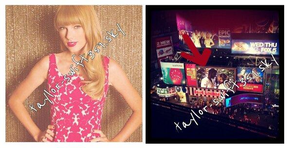 30/08/2012:Taylor était sur le plateau de MTV pour la difusion du clip WANEGBT à Times Squars,  New York.  31/08/2012 : Taylor a été vu se promenant dans la rue de la grosse pomme ( New York ) elle est sublime.  ^^