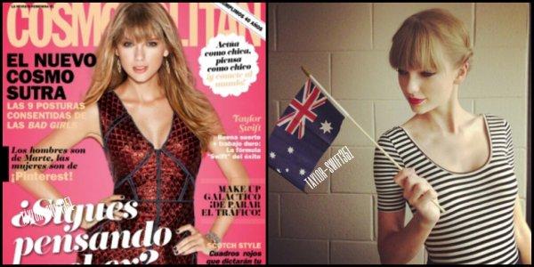 Le 30/11/12 - Tay' a été vue à l'aéroport de Sydney.