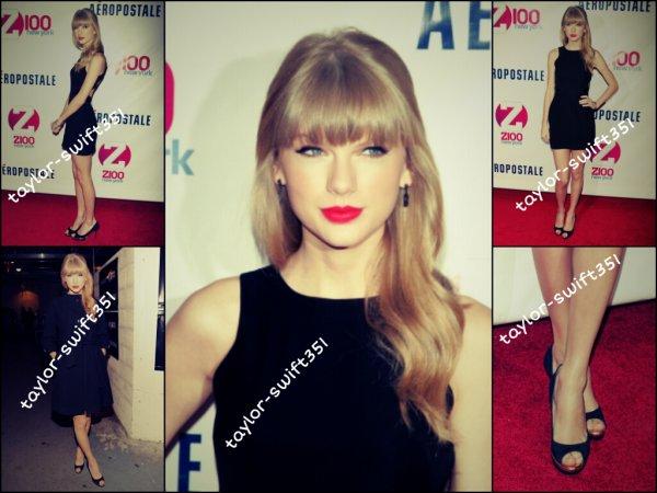 Le 7/12/12 :Taylor avait une nouvelle fois rendez-vous avec Harry Styles .