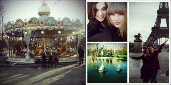 Le 28/1/2013 : Taylor sortant de son hotel,  pour se rendre aux studios de Canal+ . Pour sa tenue un Top et Vous?