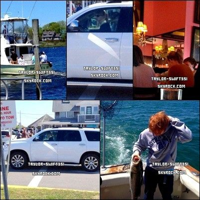Le 26/5/2013 :  Taylor était Rhode Islanden compagnie de quelques amis dontEd Sheeran.            Tay' est fabuleuse avec cette tenue et vous?           + Image du RED Tour  ICI  et  ICI