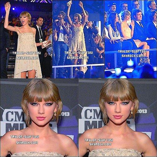 Le 6/6/2013 : Taylor était  auCMA MUSIC FESTIVAL PRESS CONFERENCE.            Tay' est magnifique,  la robe lui va à merveille,  pour moi sa sera un TOP et Vous?          +Image du RED Tour  ICI  et  Ici