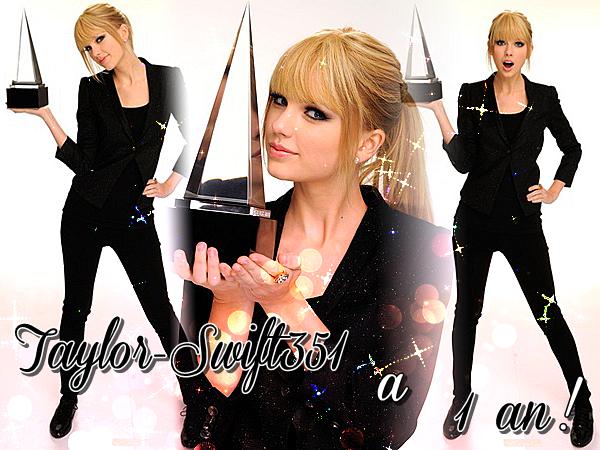 Aujourd'hui ton blog source sur Taylor Swift à 1 ans  !! Alors on dit quoi...