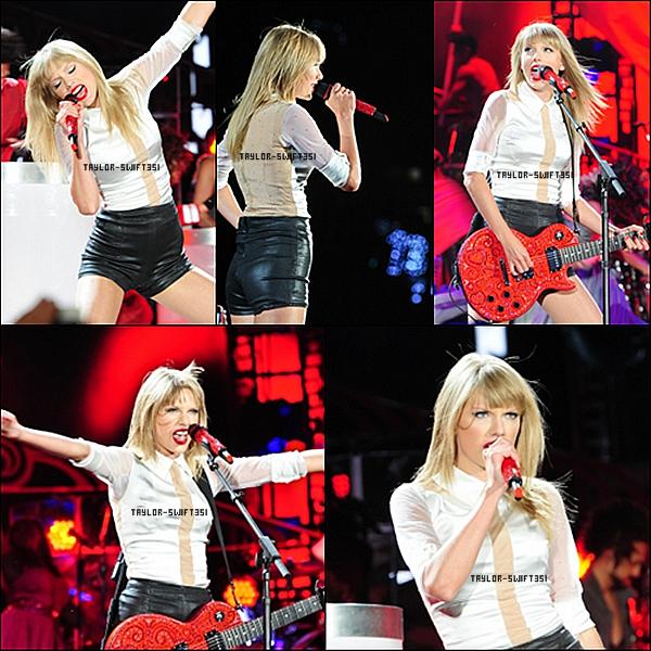 Le 10/08/2013 :  Tay' était a chicago pour  le  Red Tour    .   je trouve que Tay' est magnifique et vous ?