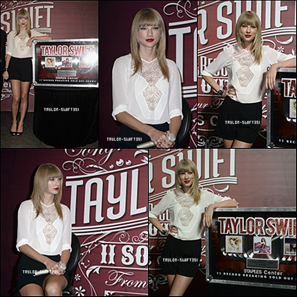 Le 21/08/2013  : GRAMMY U SOUNDCHECKS WITH TAYLOR SWIFT.     Tay'est sublime sur les photos.