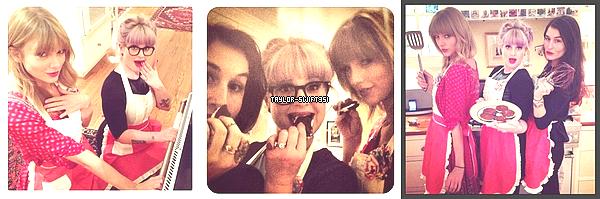 Le 4/10/2013    :   Taylor   est une nouvelle fois retournée au  Studio de Danse .      Je lui donne un  Top