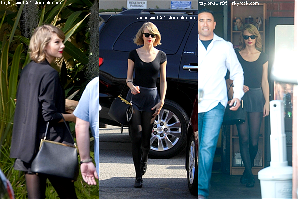 18.02.14 : Taylor qui se rend au studio d'enregistrement à L.A ! [1er photo]