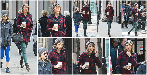 19.03.14 : Taylor Swift a été aperçue faisant du shopping à SoHo, New York City.