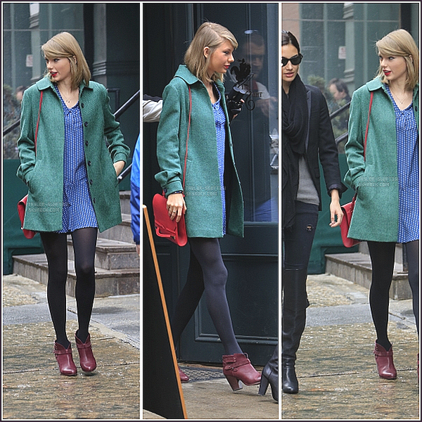 Mars 2014 : Taylor Swift en sortie à New York