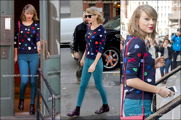 16.04.14 : Taylor de sortie à New York City.