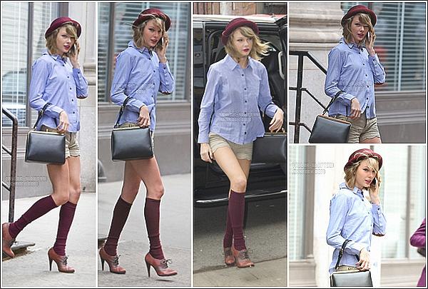 Le 24/04/2014 : Taylor a été vue de sortie à  New-York City.  Je lui donne un très gros Top et vous?