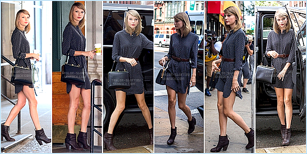 Le 18/07/2014: Taylor a été vue de sortie dans New-York City .   Taylor est resplendissante, je lui donne un TOP et Vous?