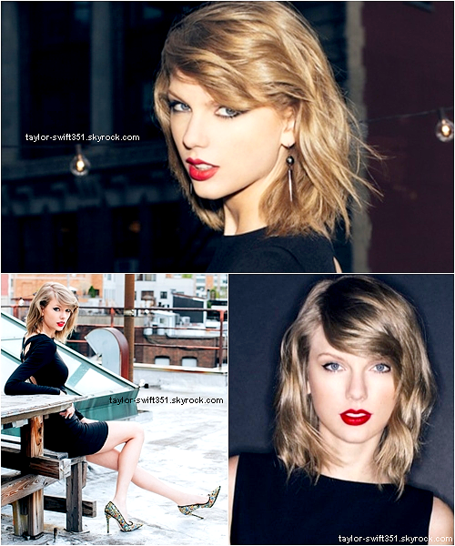 "Photoshoot pour le nouvel album de Taylor,  ""1989"""