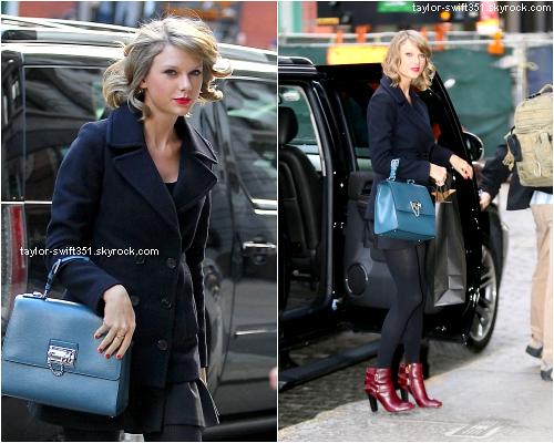 14.01.15 : Taylor se rendant à son cours de ballet à Los Angeles et chez une amie