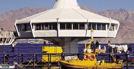 L'observatoire sous-marin d'Eilat