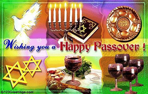 Pesach April 22 - May 1 / 2016
