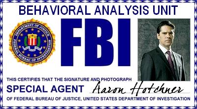 """Esprits Criminels : FBI BAU Superviseur/Chef - Agent Spécial Aaron """"Hotch"""" Hotchner"""