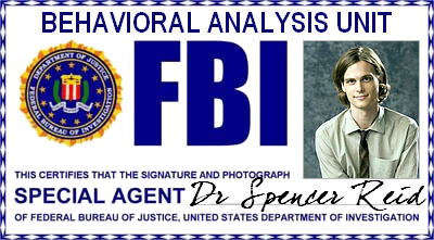 Esprits Criminels : FBI BAU - Agent Spécial Dr. Spencer Reid