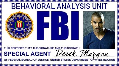 Esprits Criminels : FBI BAU - Agent Special Derek Morgan