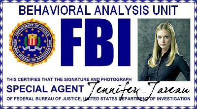 """Esprits Criminels : FBI BAU - Agent Special Jennifer """"JJ"""" Jareau"""