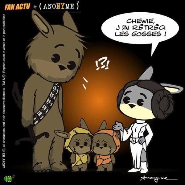 star wars comique ^^