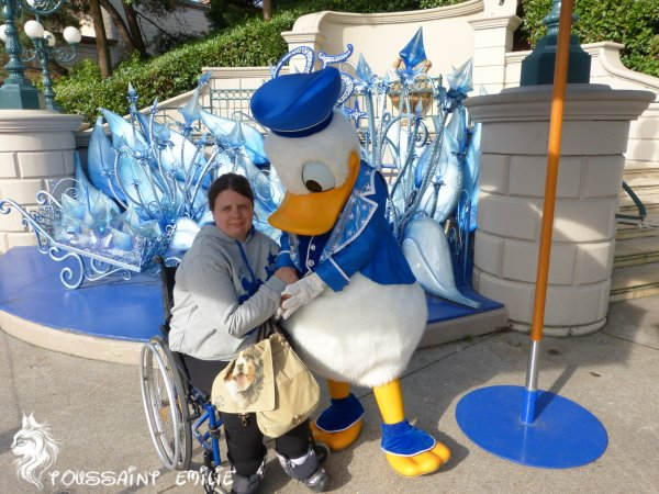 mes rencontres personnages à Disneyland Paris