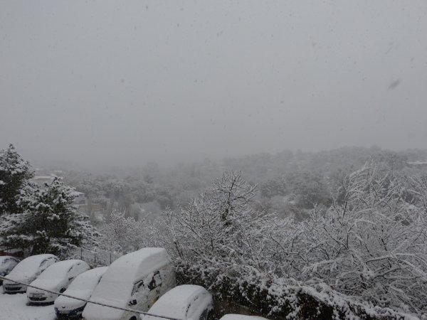 hé oui, il a neigé aujourd'hui - 2 décembre 2017