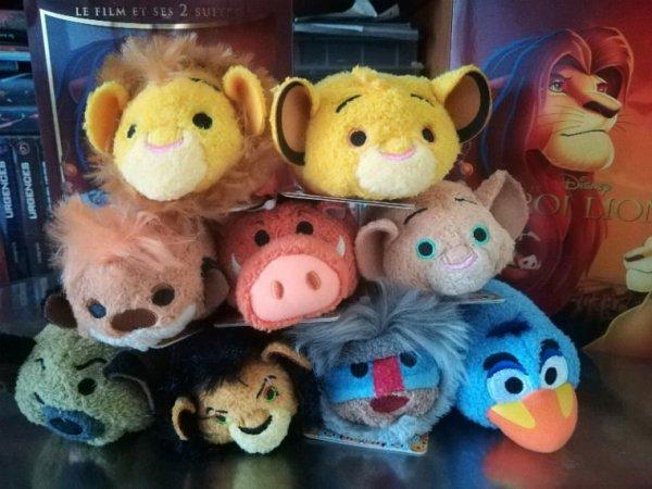 Pack tsum tsum roi lion