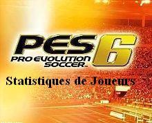 Stats de Joueurs PES6