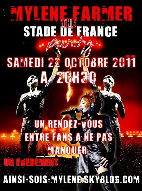 MYLENE FARMER THE STADE DE FRANCE PARTY
