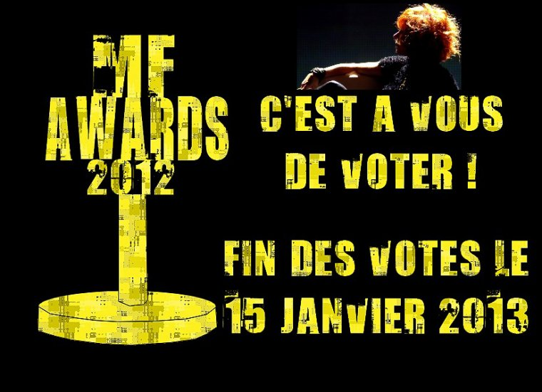 LES MYLENE FARMER AWARDS 2012 !