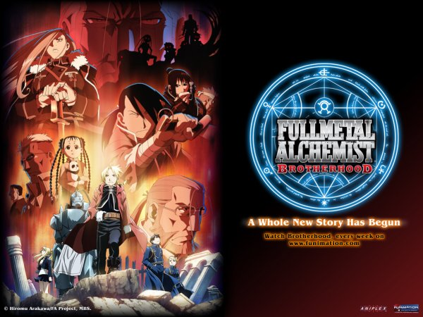Full Metal Alchemist/Full Metal Alchemist Brotheroods