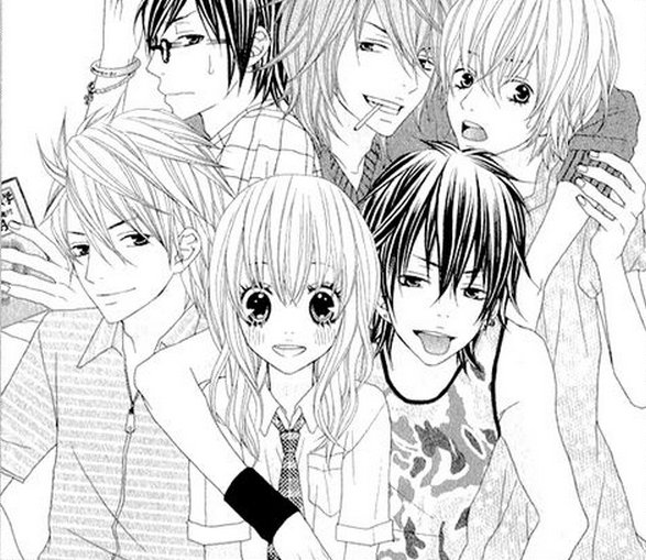 Manga love share