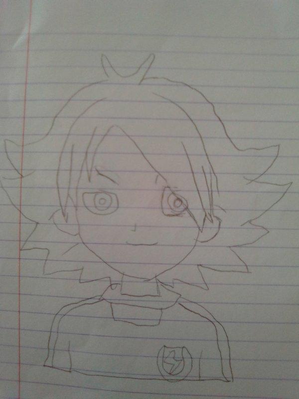 dessin inazuma eleven #3