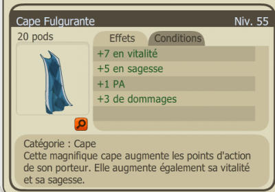 Drop Cape fulgurante ! :D