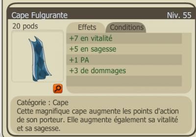 Drop Cape fulgurante ! :D