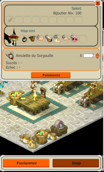 Retapage de capture gorgouille + craft :D