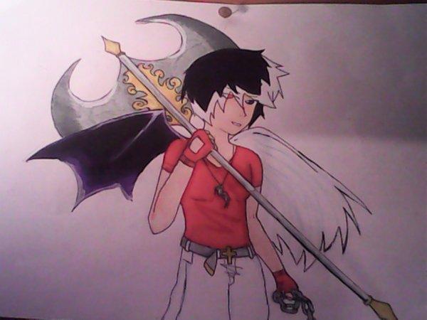 ange demon guerrier